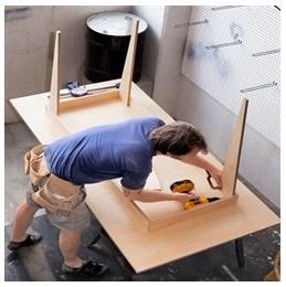 Сборка столов по низким ценам в Белгороде от специалистов