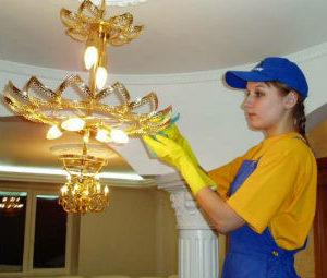 Мытье люстр в Белгороде
