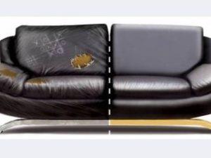 Перетяжка кожаного дивана в Белгороде